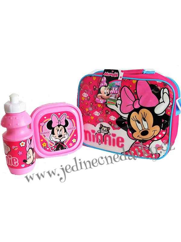 Svačinový box Minnie Mouse 3 ks