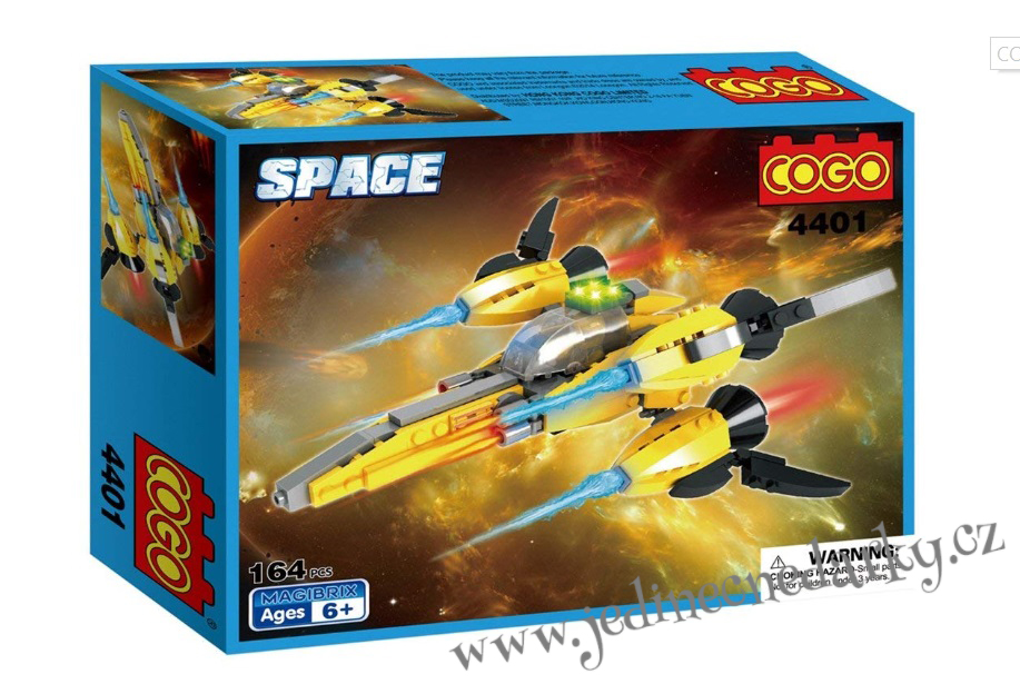 COGO SPACE stíhačka 164 ks